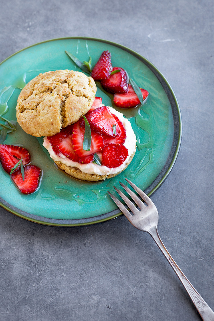 Strawberry Ricotta Shortcakes