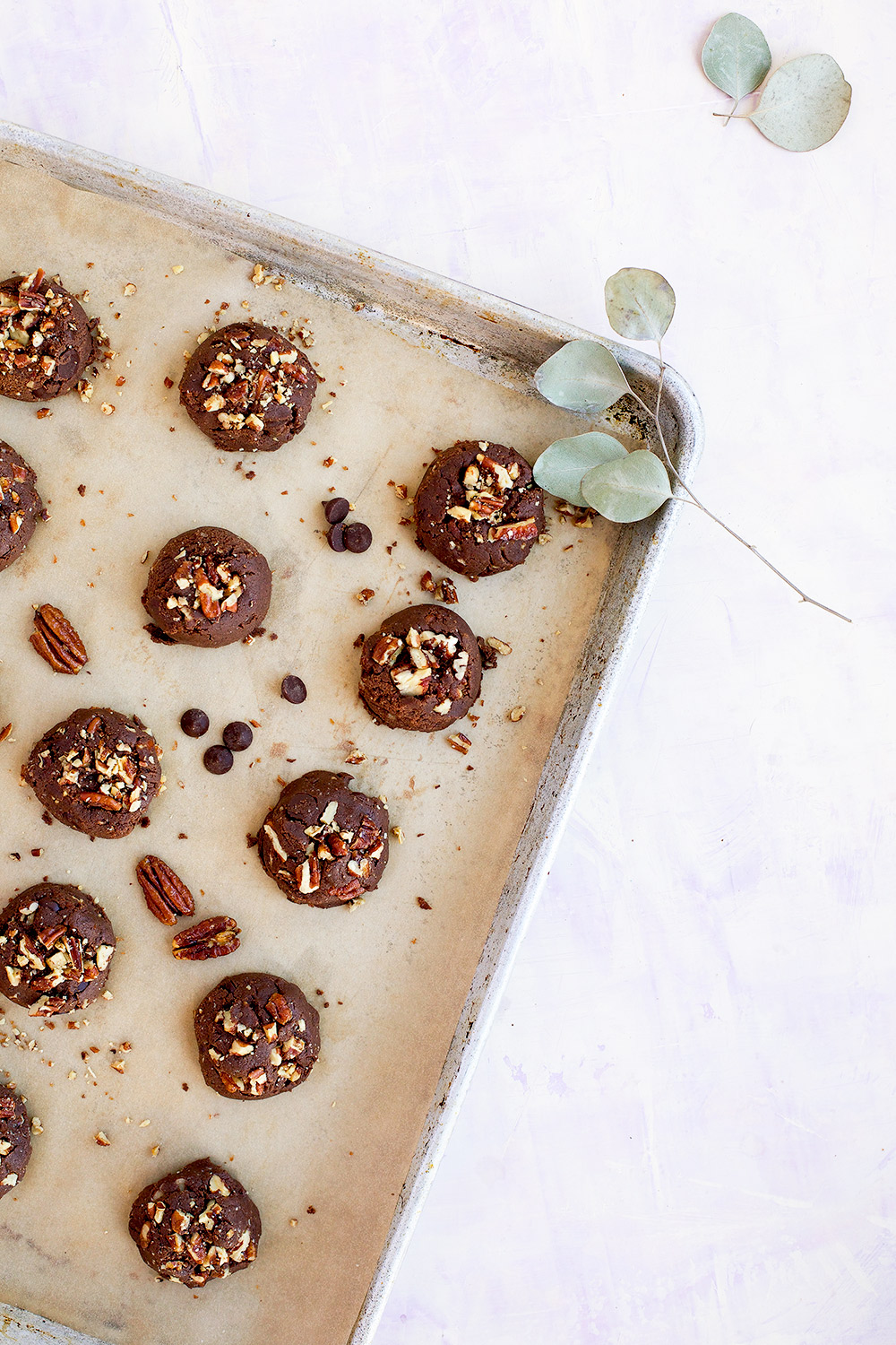 Caramelized Pecan Chocolate Chip Cookies