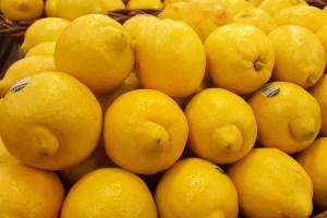 Lemons From California, not Argentina