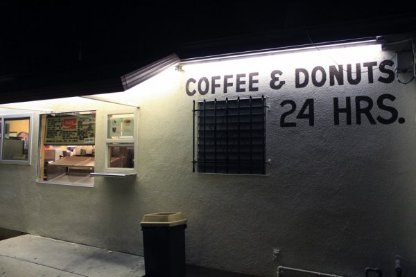 donut hole 24 sign