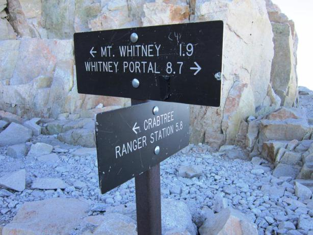 John Muir Trail Junction