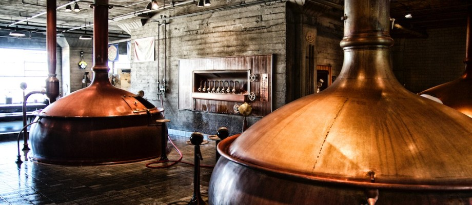 Anchor Brewing Company in San Francisco