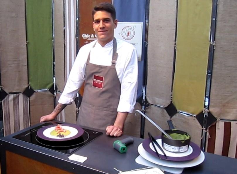 Chef Giorgio Palazzolo e CALI@