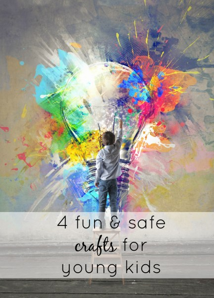 What are some crafts for 1-year-olds?