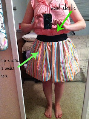 The first time I tried to make a bubble skirt, it was a disaster, but it wasn't my fault. Nope. The directions can be confusing! So, I demystified the bubble skirt tutorial for you. I even included helpful images like a roadmap. | bubble skirt outfit | bubble skirt diy | sewing patterns free | sewing patterns for beginners