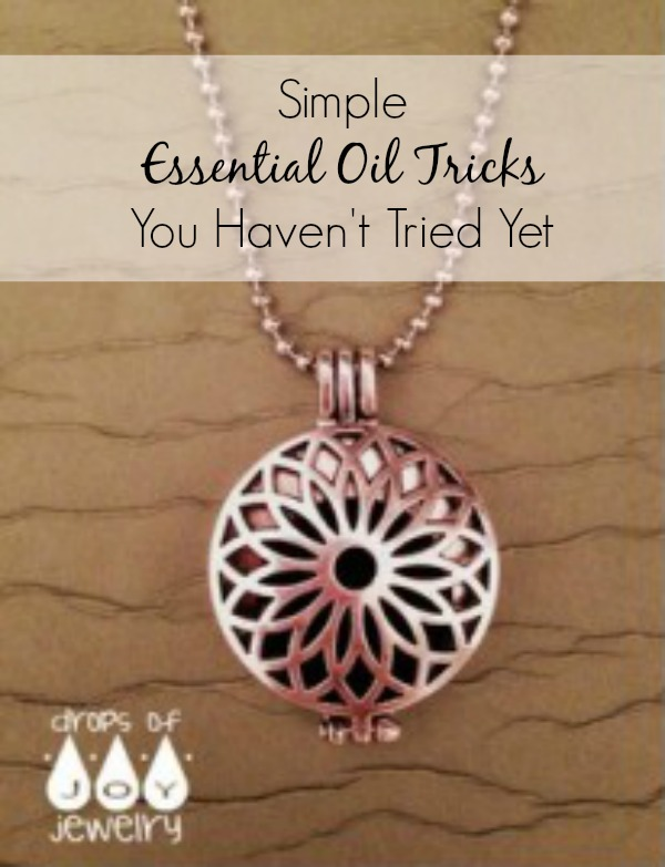 Essential oil uses that you can DIY or purchase on the cheap. Use with doTerra, Young Living or any oil of your choice. I love my Drops of Joy jewelry - find out where to get one for yourself.