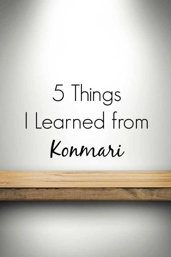 5 Things I Learned from Konmari