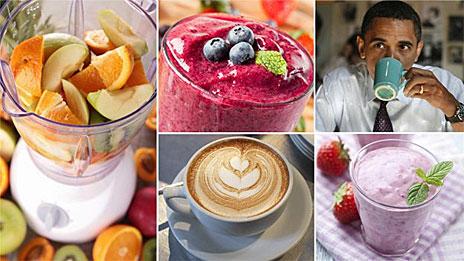 Nem sempre a vitamina de frutas é a escolha saudável.