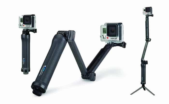 Los 10 mejores accesorios para la GoPro HERO en 2015: GOPRO 3 WAY