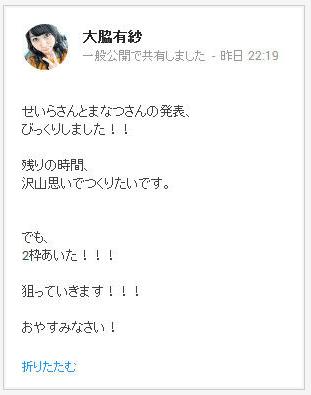 大脇有紗 20140118