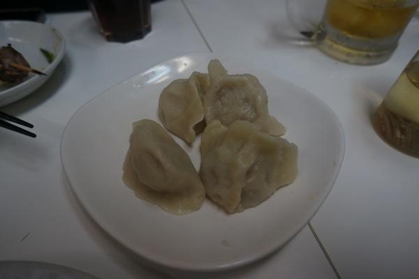 羊肉の水餃子@味坊