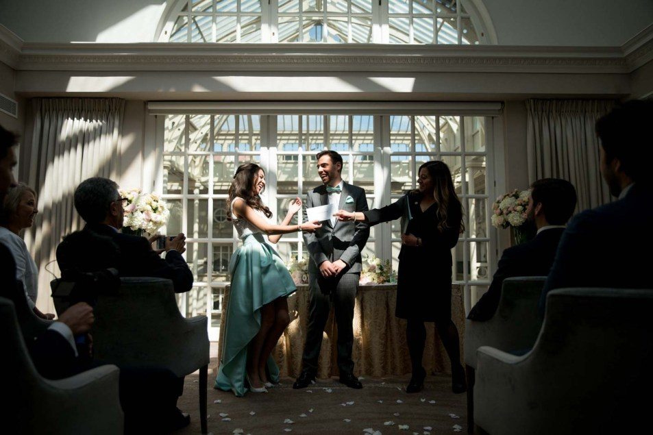 Wedding Photography at The Landmark London Florian & Imane22
