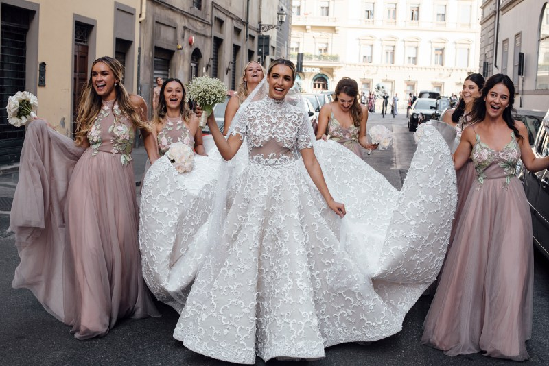 Awesome A Lot Our Carnival Dancers I Were Welcomed Bride Our Wedding Florence Part Camila Carril Dinner We Had A Few Attractions During Anthony Dancing