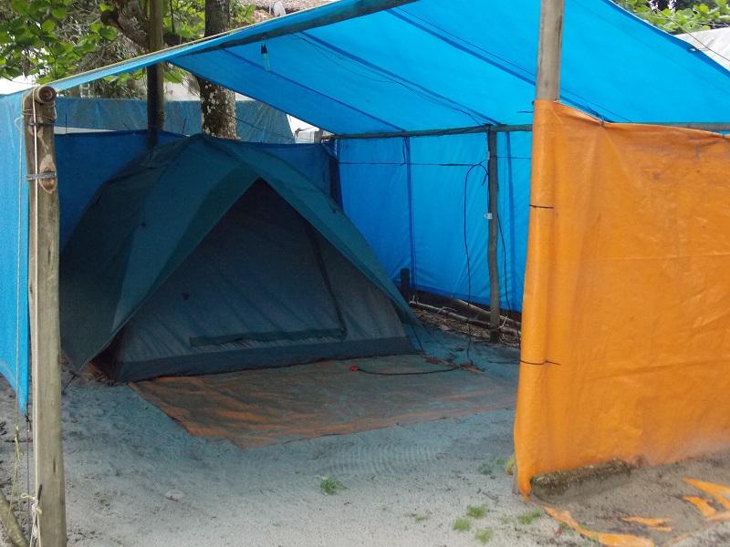 Caraguatatuba, dias ótimos no Camping El Shaddai.