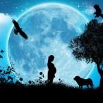 """13 ottobre 2015 …luna NUOVA…il mio sentire tra """"calma"""" solare e """"nebbia"""" lunare"""