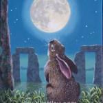 22 APRILE 2016… LUNA PIENA..LA LUNA DELLA LEPRE …(il coniglio bianco di Alice)