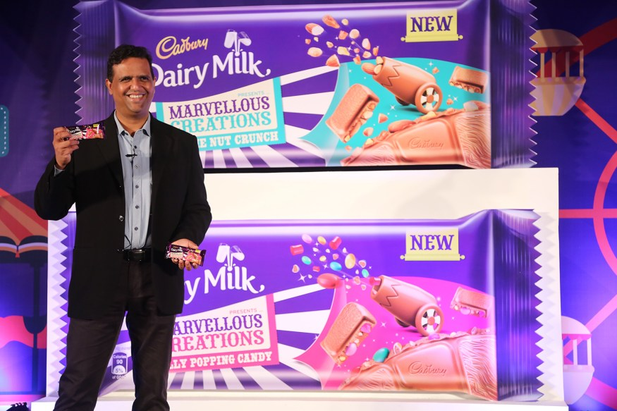 Mondelez-India-introduces-Cadbury-Dairy-Milk-Marvellous-Creations.-Prashant-Peres---Director---Marketing-(Chocolates)-Mondelez-India-launching-the-product