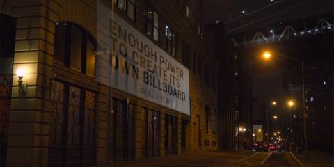 Flashlight Billboard by JWT