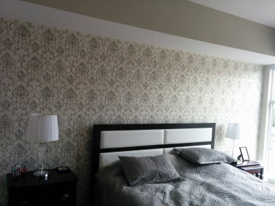 How much does it cost to wallpaper a room in Toronto? | CAM Painters