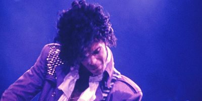 CHICAGO - DECEMBER 10: Prince performs live on stage at  Rosemont Horizon in Chicago on December 10 1984 during his Purple Rain tour (Photo by Richard E. Aaron/Redferns)