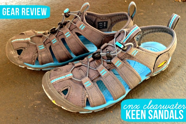Keen CNX Clearwater Sandal Review by Kam of Campfire Chic