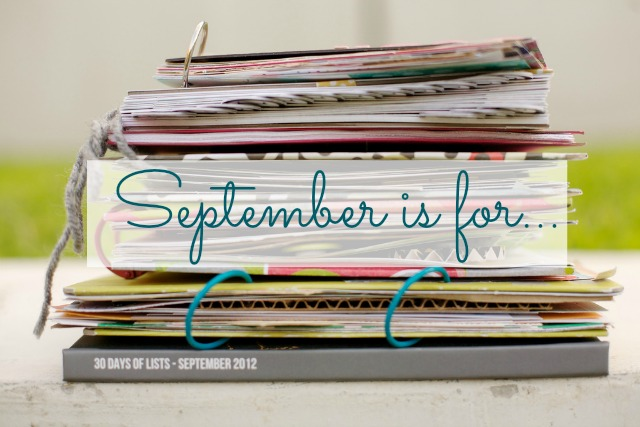 Kam of Campfire Chic Shares Her Plan for September 2013