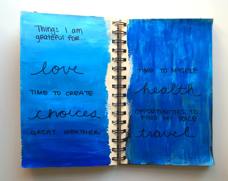Messy Lists Art Journaling Challenge with Co-Hosts 30 Days of Lists - Campfire Chic
