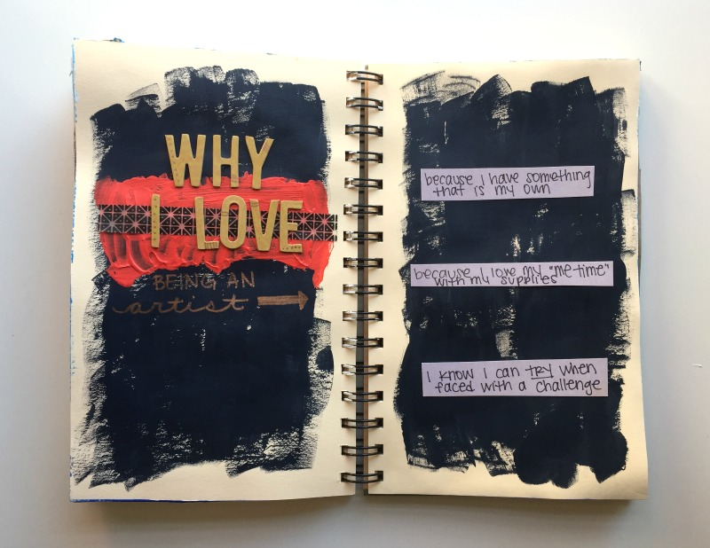 Week 4 Get Messy Art Journal and Listing Challenge - Campfire Chic