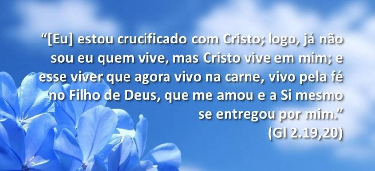 A vida que é Cristo