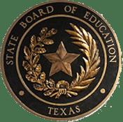 国家教育局的金属徽章,中间的星星被树叶包围