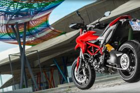 Just the bike for urban brawling. Photo: Ducati