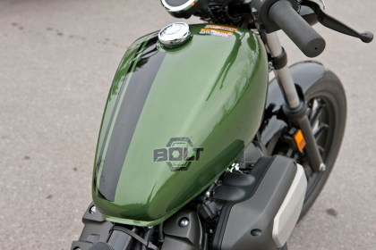 Some people might not like the Bolt logo that Yamaha plastered on the gas tanks. Photo: Bill Petro