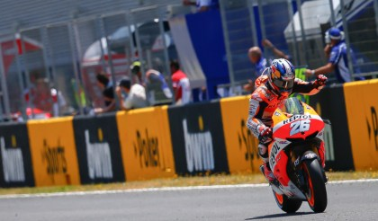 Dani Pedrosa took the win for Honda. Photo: MotoGP