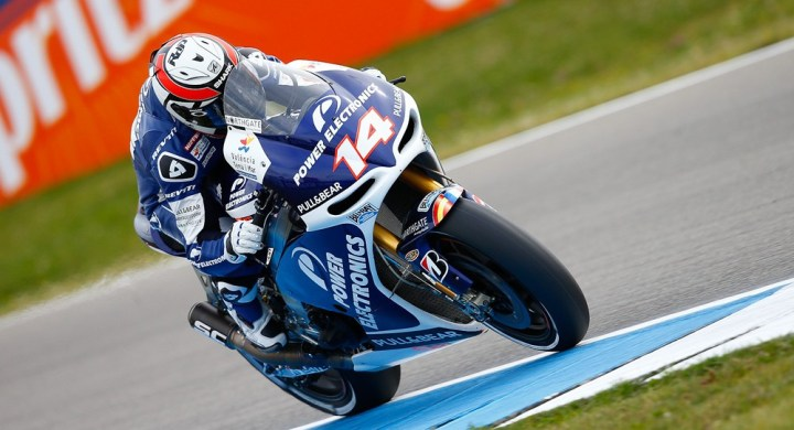 MotoGP is getting rid of the Claiming Rule for 2013. That's going to significantly change things for the CRT front-runners, like Randy de Puniet. Photo: MotoGP