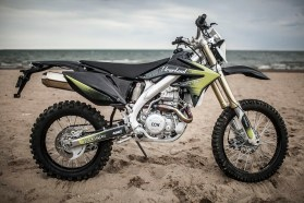 Here's the dual-sport version of the Hooligun, currently under development. Photo: CCW