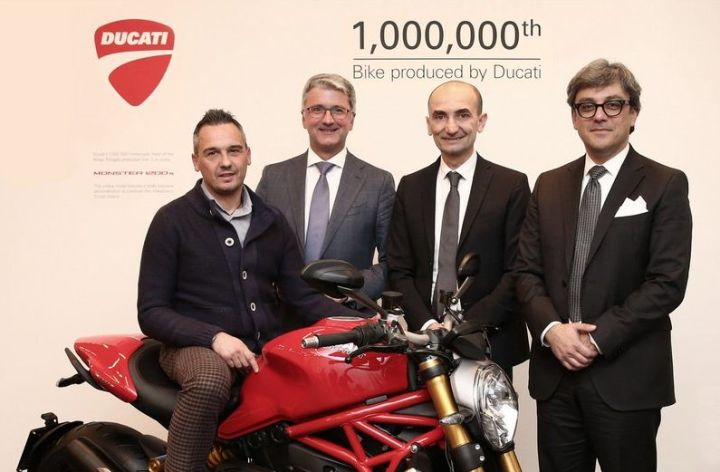 Ducati builds their millionth motorcycle