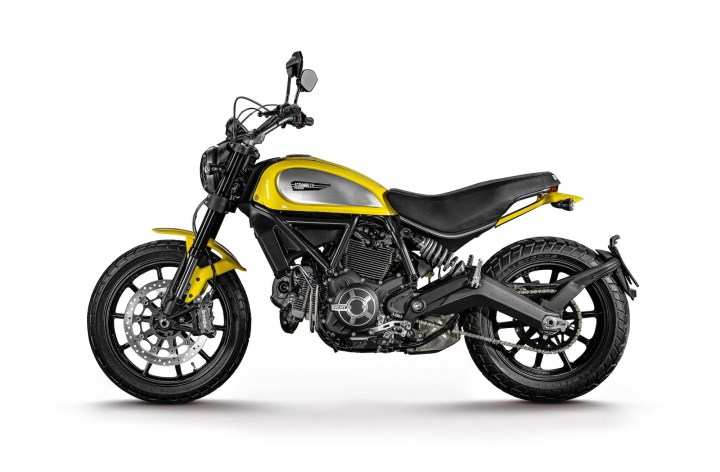 Ducati Scrambler accessories hitting the market