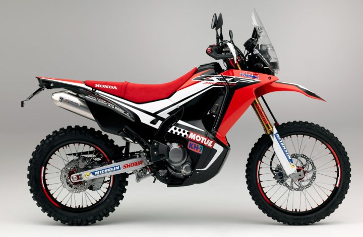 Honda CRF250 Rally concept appears