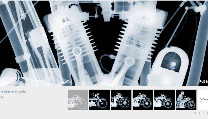 Inside out: Photographer Nick Veasey's new take on classic bikes