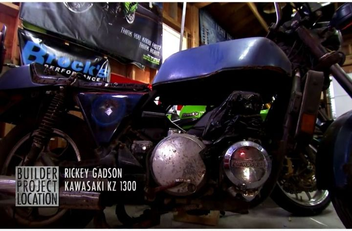 Video: Rickey Gadson's KZ1300