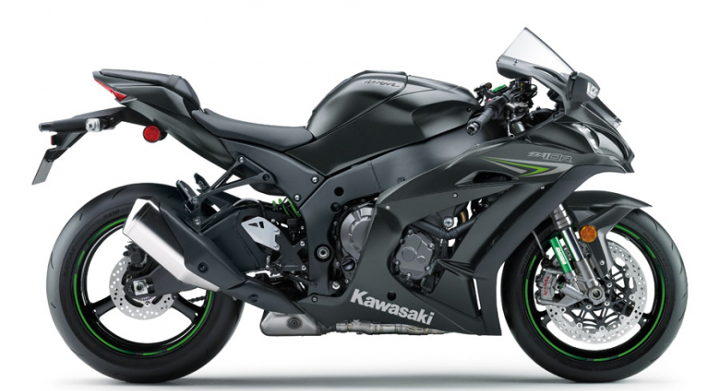 New Kawasaki ZX-10R unveiled