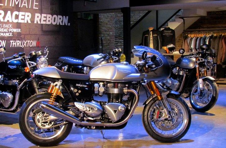 Details of new 2016 Triumph Bonnevilles