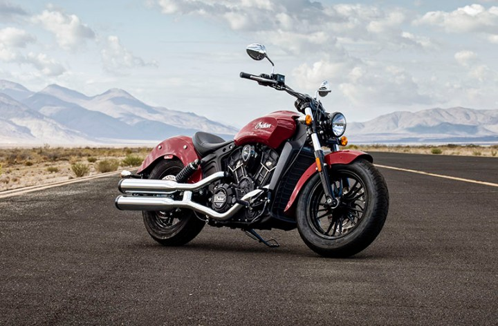 Indian builds the Scout Sixty