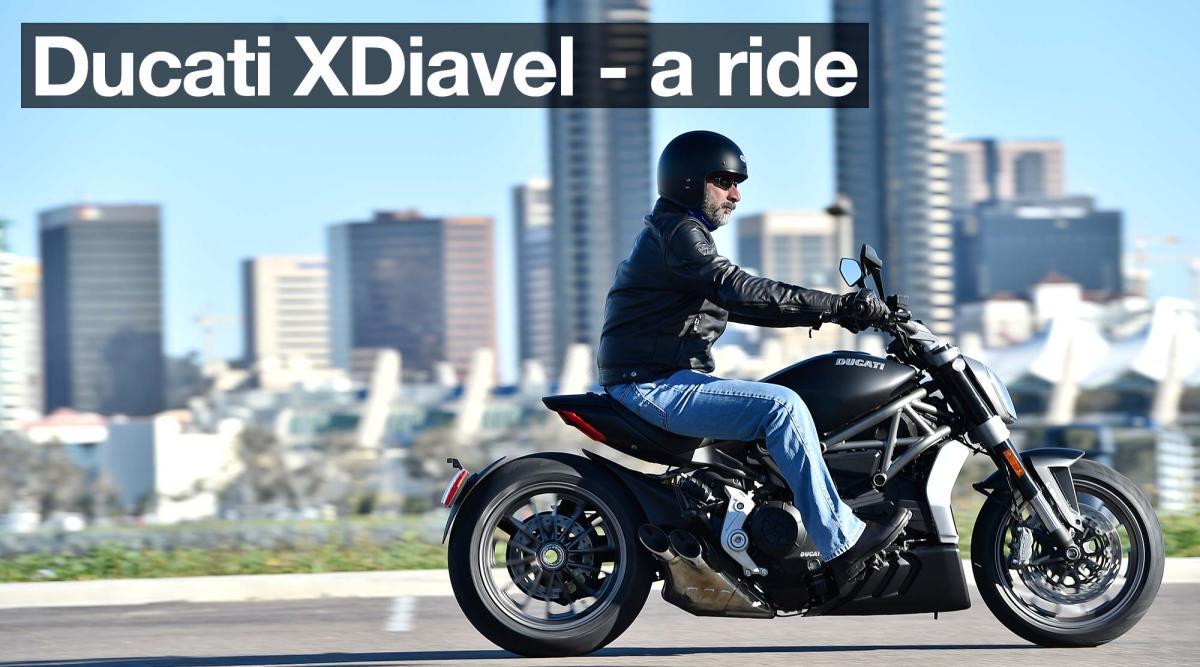 2016 Ducati XDiavel launch