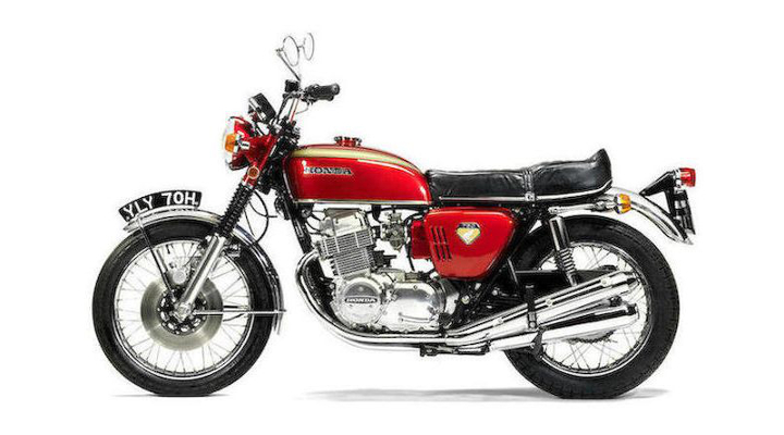 Vintage iron: Honda's original CB750 press mule is for sale