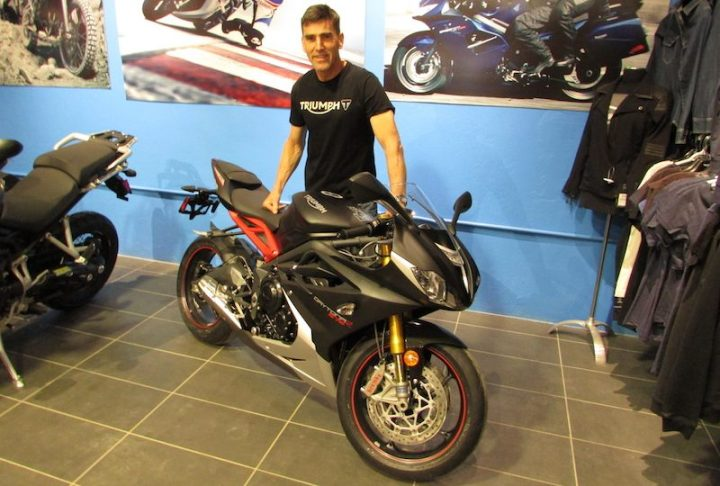 Michael Taylor to race Triumph in 2016 CSBK action