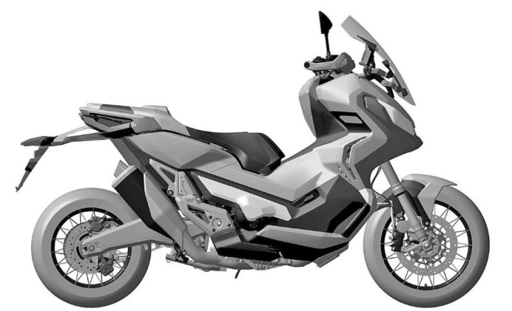 Patent images offer peek at Honda ADV