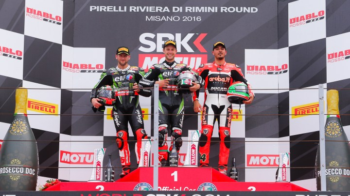 Race Results: Misano World Superbike