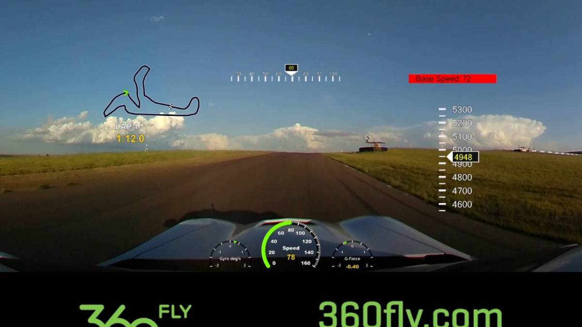 360fly to offer telemetry capability along with 360-degree video