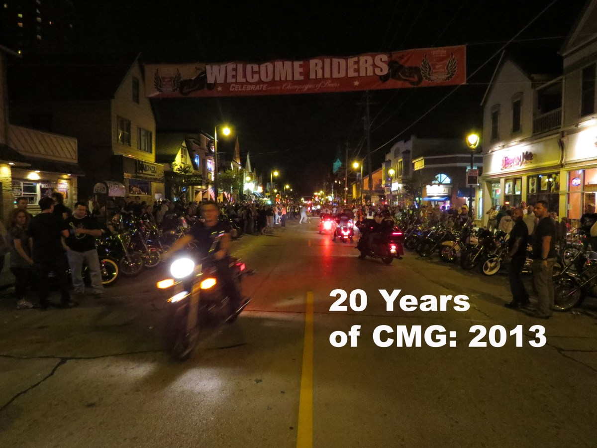 20 Years of CMG: Harley's 110th